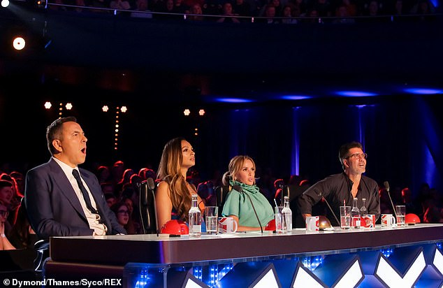 Impressed: she described the track that should impress the judges as