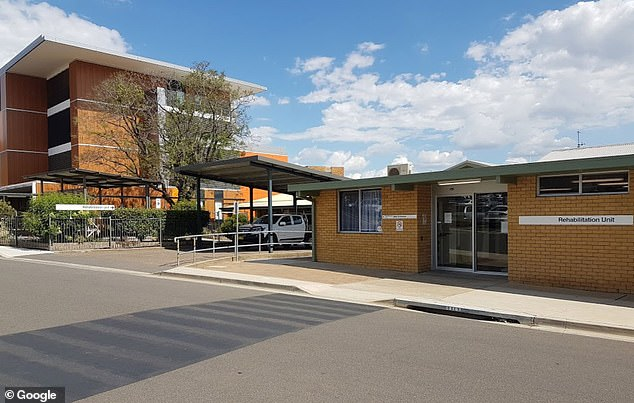 A 58-year-old woman died at Tamworth Hospital (photo). The cause of the infection is still under investigation