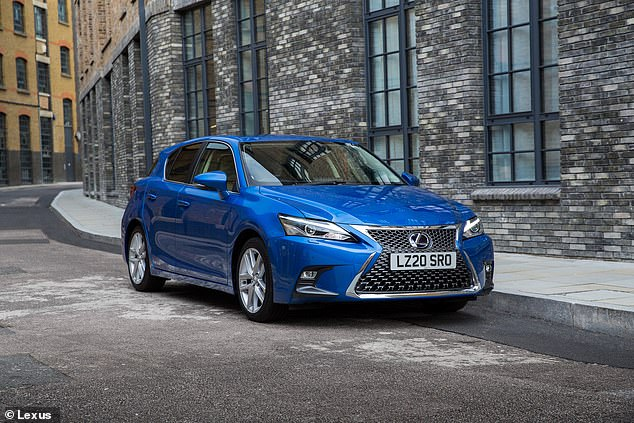 Lexus CT is the oldest model on this list, but still offers motorists trouble-free driving