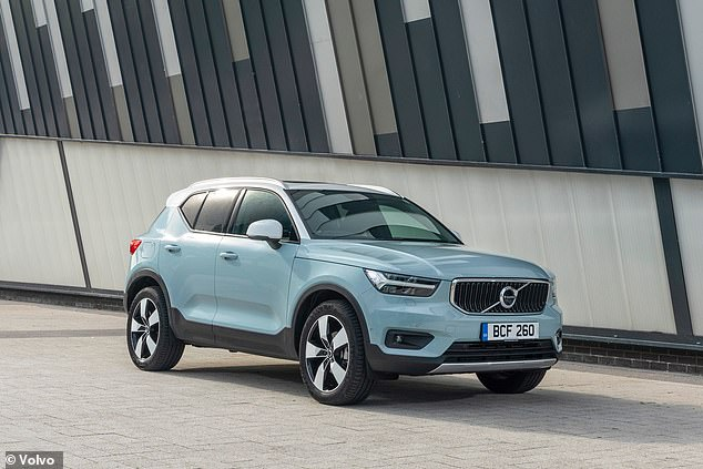 The Volvo XC40 is at the top of the charts - the choice of compact SUVs right now, and more thanks to this applause