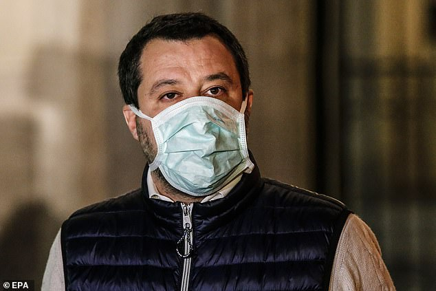 The impact of the virus could play directly in the hands of Matteo Salvini (photo), whose League party ruled Italy in coalition for a year until the summer of 2019 and who is determined to quickly return to power , to govern alone