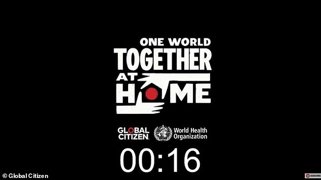 One World: The eight-hour TV show will see performances and star appearances, including; Elton John, Jennifer Lopez, David and Victoria Beckham, Taylor Swift, Billie Eilish, Alicia Keys, Ellen DeGeneres, Pharrell Williams, Eddie Vedder, Kerry Washington, Coldplay´s Chris Martin, Celine Dion, Lizzo, J Balvin and Andrea Bocelli during the last two hours