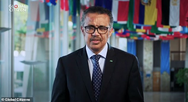 Tedros, a former leader of the Ethiopian Marxist party with a doctorate in community health, also gave a video speech during the concert, which caused a particular backlash.