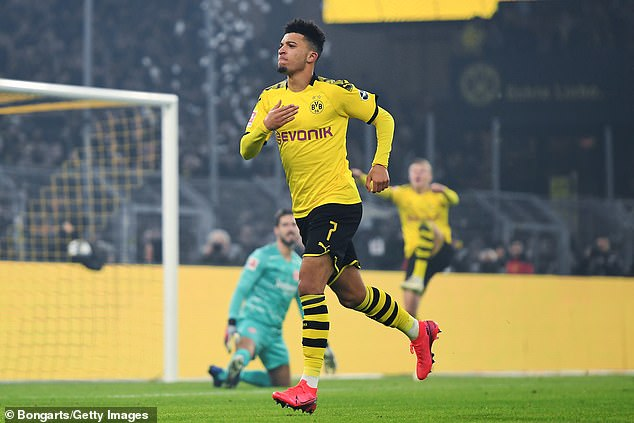 Sancho scored 17 goals and 19 assists for Borussia Dortmund this season