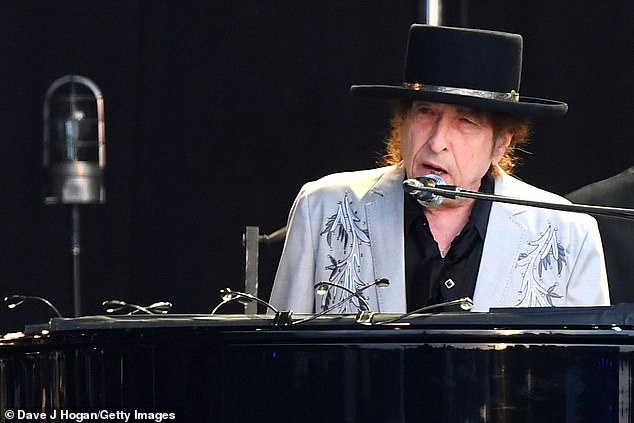 Bob Dylan (photo) performs as part of a double bill with Neil Young in Hyde Park on July 12, 2019