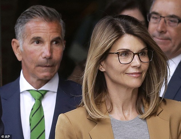 Other parents charged in the case include Full House star Lori Loughlin and her fashion designer husband Mossimo Giannulli, who are accused of paying $ 500,000 to bring their two daughters into USC as as crew recruits, even if none of the girls was a rower.