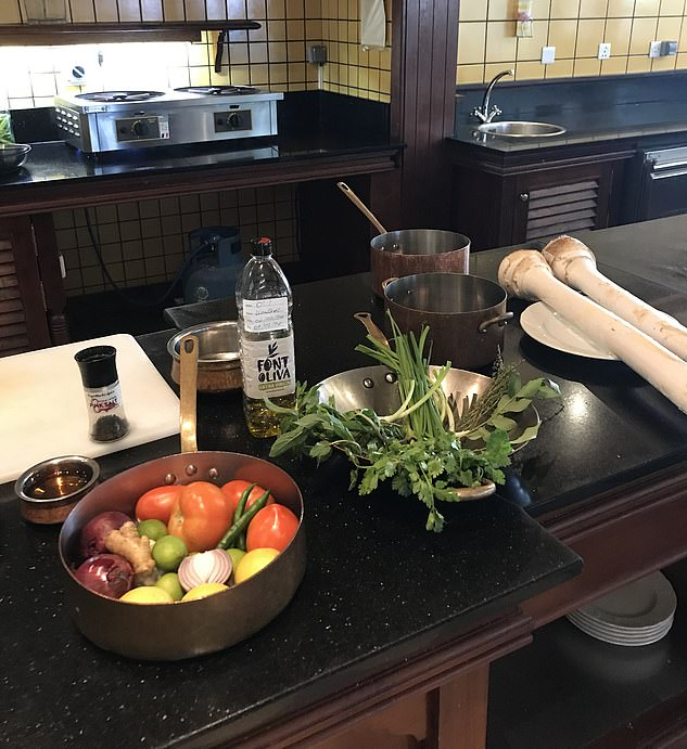 The festival even offers cooking classes on how to make simple dishes with healthy ingredients to boost your immune system