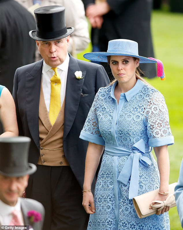 The royal's nuptials were initially overshadowed by the scandal that has engulfed her father Andrew, with the date changing twice to accommodate the Queen's second son