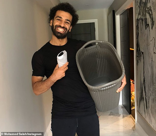 Liverpool star smiles for camera as he begins to celebrate holy month