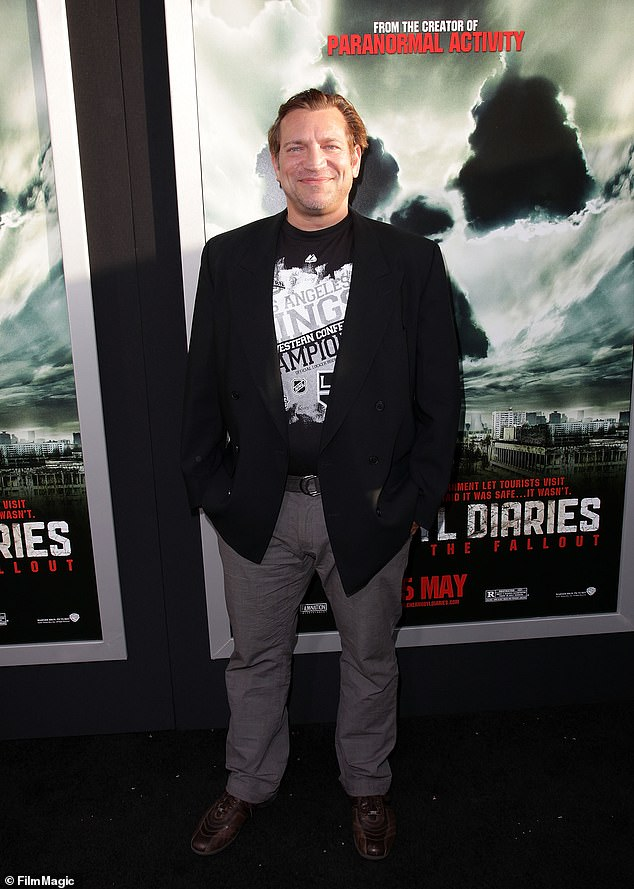 Happy at the premiere of his movie: in May 2012, he looked proud to be at the premiere of Chernobyl Diaries in Hollywood