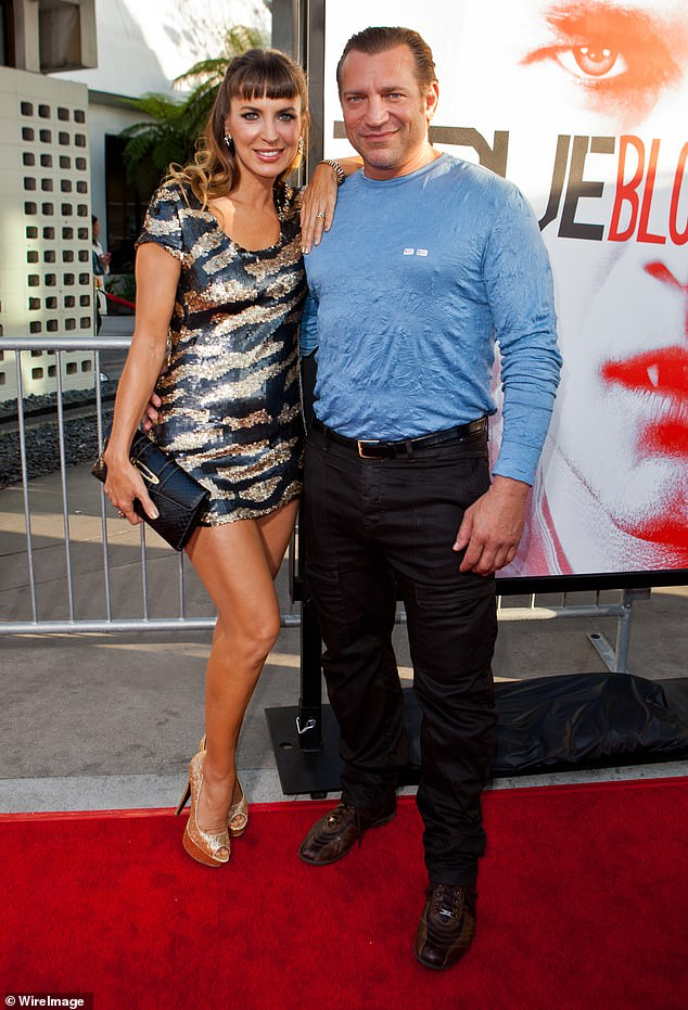 Not sick: the star's brother told the site that Dimitri's death was not related to the new coronavirus. COVID-19 has killed more than 800 people in Florida. Seen in May 2012 with actress Sandra Vidal at the premiere of True Blood in LA