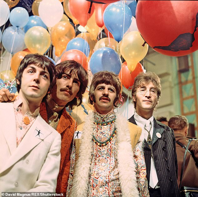 Notes: In an interview with DJ Howard Stern's radio show, Paul remarked that the Beatles (photographed in 1967) `` were better '' like `` whatever we do, the Stones did it shortly after ''