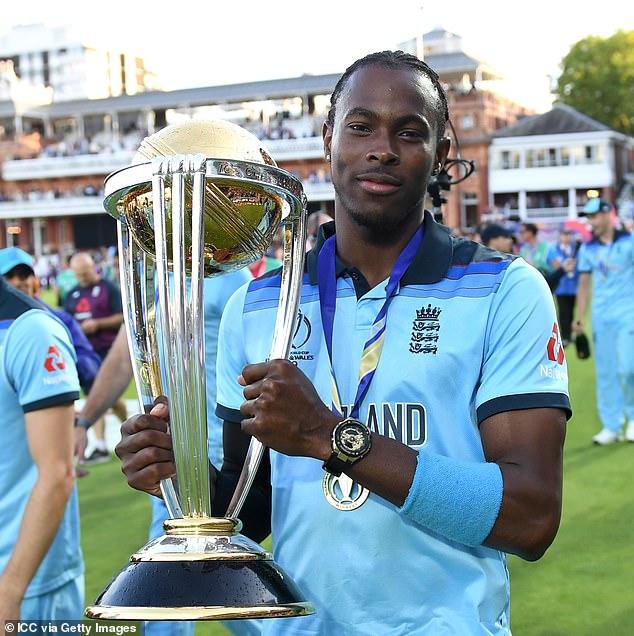 Jofra Archer finally found his triumph World Cup winner in England in 2019