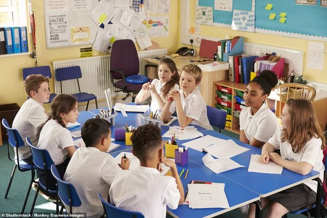 Teachers' unions are being warned not to get in the way of getting children back to school and letting their parents get back to work. Tory MPs issued the alert amid concerns that union bosses were 'leaning on' Education Ministers to put off a timetable for schools to reopen [File photo]