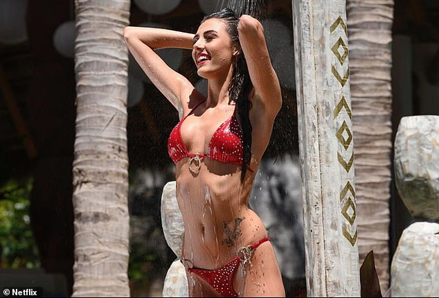 Racy:Essex beauty Chloe Veitch, 21, has revealed what Too Hot Too Handle was really like and how she feels 'empowered' because of it