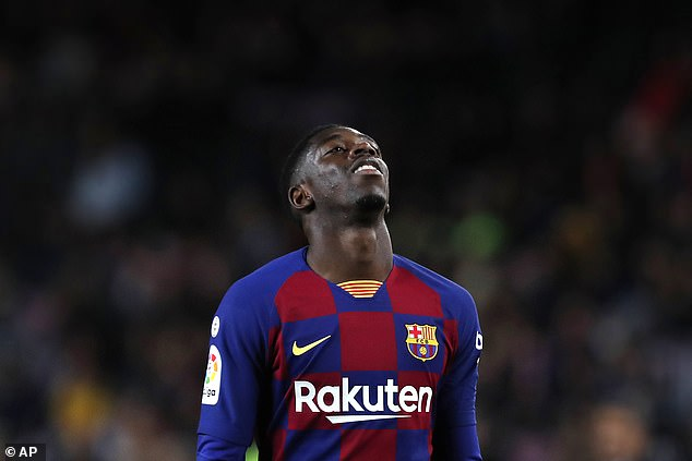 The Catalan club will also try to move winger Ousmane Dembele to the next transfer window