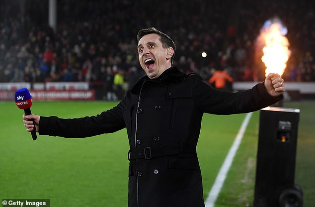 After retiring, former England and United States right-back Neville opted for a career in sport