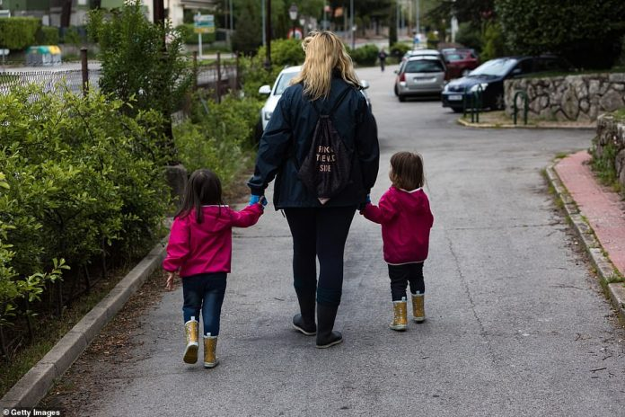 This comes after Spain allowed the children to leave the home this week for short walks, having previously prohibited them from leaving the house for any reason.