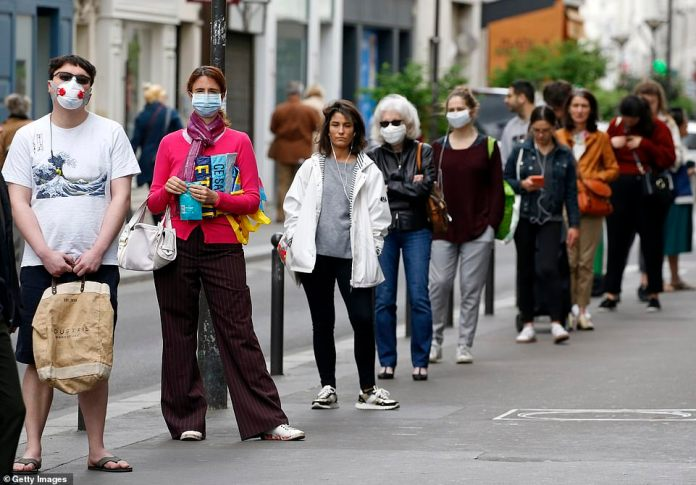 France will begin easing the lockout restrictions from May 11 with the reopening of the first non-essential stores and schools. Masks will not be required in public, but store owners can ask people to wear them before entering