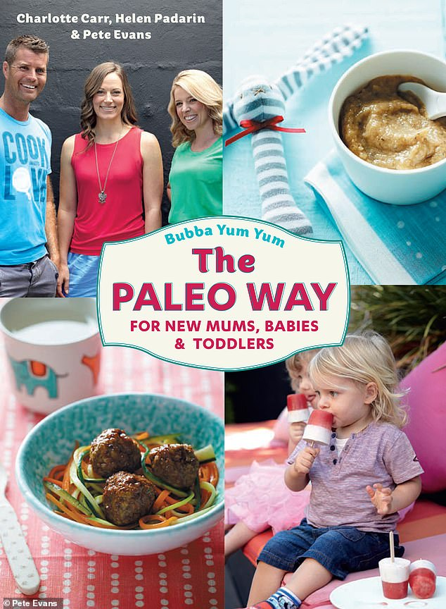 Pulled: Evans' Paleo cookbook for children, Bubba Yum Yum, was pulled from shelves in March 2015 after an expert claimed the book's bone broth recipe could potentially kill infants
