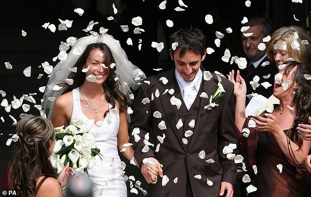 Gary Neville married Emma Hadfield, a former saleswoman, to Manchester in 2007