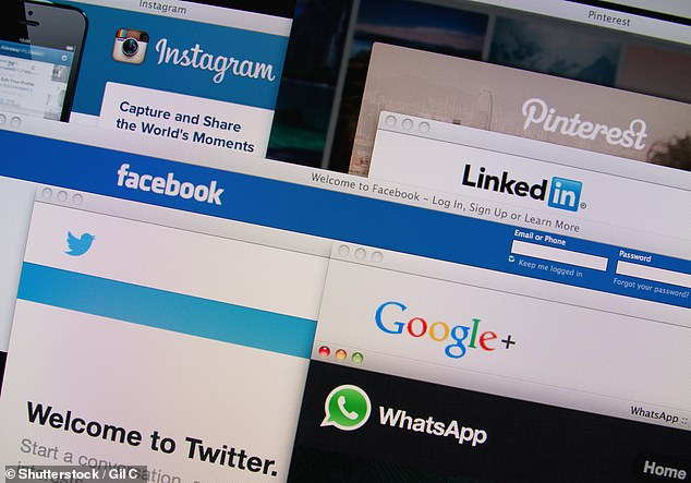 One Facebook group post gave the identity and financial details of a Yorkshire man. Facebook initially refused to remove the post but later took it down along with other posts (file image)