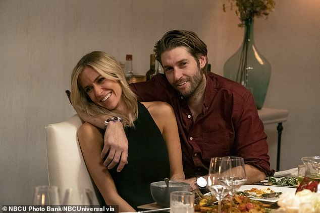 Better times: The estranged pair was seen on Kristin's show Very Cavallari
