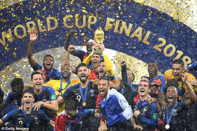 France won trophy in 2018 but it has been revealed that the 2022 edition could be in trouble