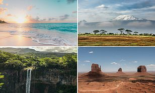How to give your Zoom photo a touch of the exotic: Holiday companies make beautiful photos available Daily Mail Online