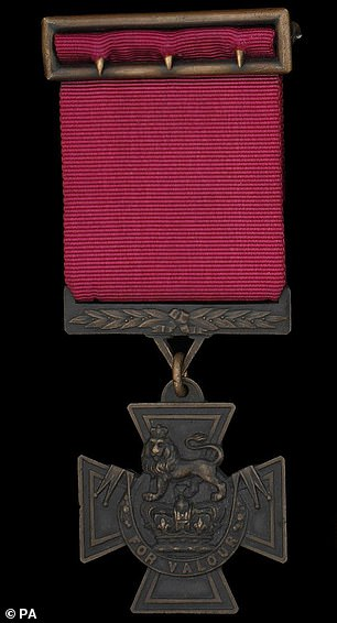 The VC is the highest and most prestigious award in the British honours system (file photo)