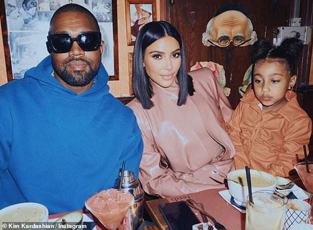 Left alone: Another insider told HollywoodLife that the couple was actually fine because Kanye took the children out of town to let mom have personal time