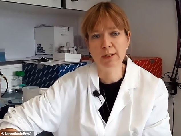 Sophie Le Poder (photo), who is a professor of virology at the establishment and co-author of the study, said: