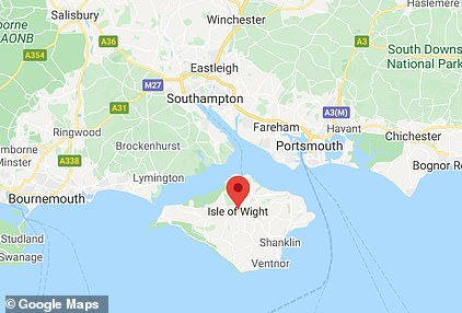 The Isle of Wight is off the coast of Portsmouth and Southampton