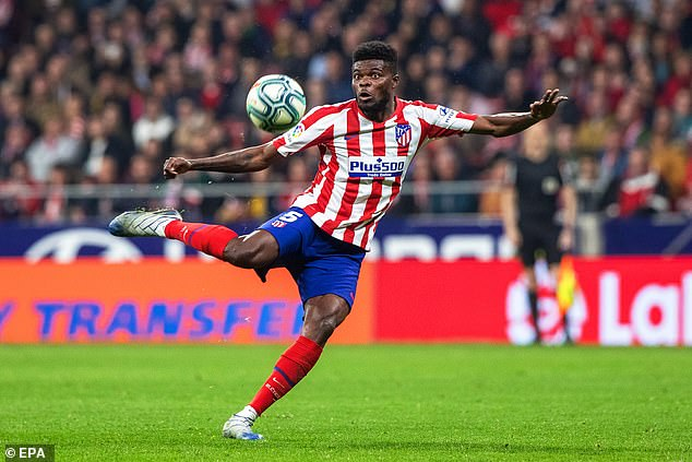 Thomas Partey has decided to sign for Arsenal this summer