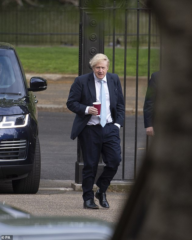 One idea suggested for Great Britain would be to put in place the lifting of the locking restrictions in different parts of the country. It is also examined in Scotland. Pictured: Prime Minister today