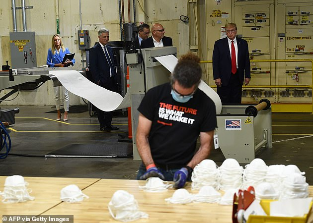 The Honeywall factory the President visited was converted to make N95 masks