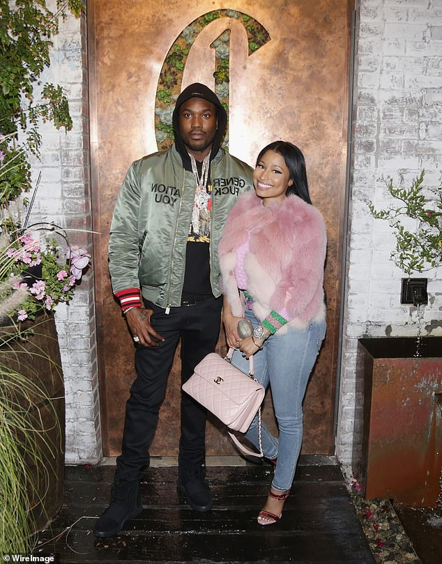 Feud: Meek Mill first revealed that they were waiting in February of this year, while quarreling with his ex-girlfriend Nicki, 37, on Twitter (photo here in 2016)