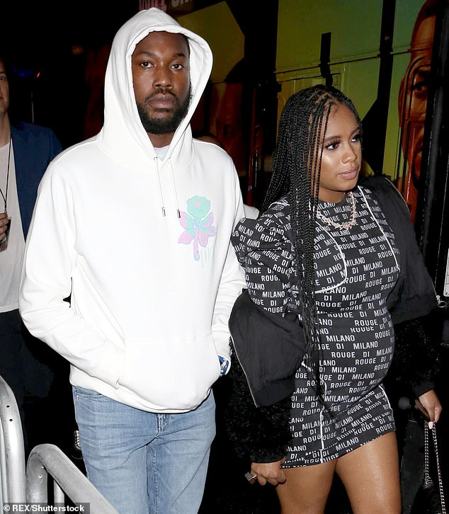 Good news: Meek Mill, 33, and his girlfriend Milan Harris, 30, welcomed a little boy on Wednesday, May 6, which was also the rapper's 33rd birthday.