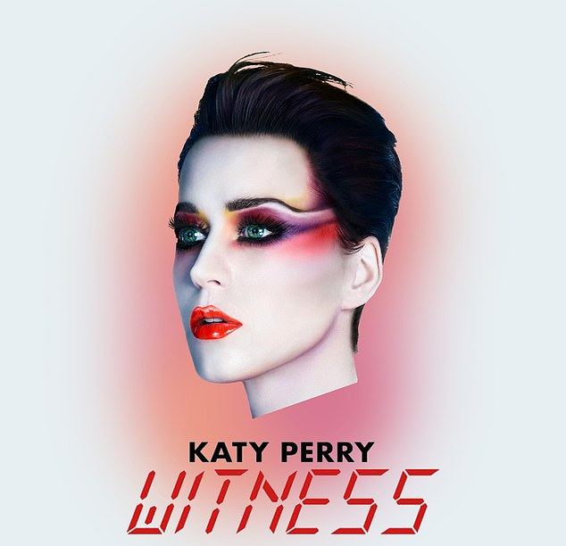 Ouch: Witness was a commercial flop, selling only 162,000 copies in the United States - less than a tenth of sales from his previous album Prism