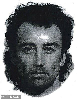 This Identikit image shows a man seen on the night Sarah Spiers vanished - all any of us had to go on for two decades