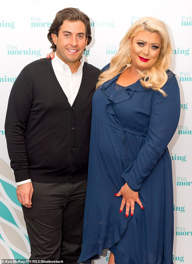 Outlaw? A source told MailOnline that Gemma had parked her car on the street where James lives to avoid being seen