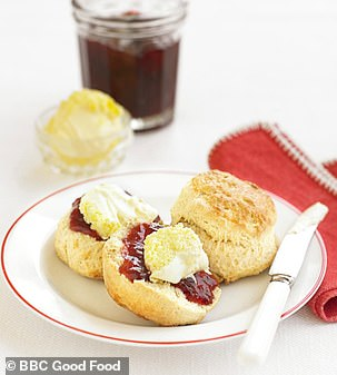 Classic scones were the fourth most requested recipe
