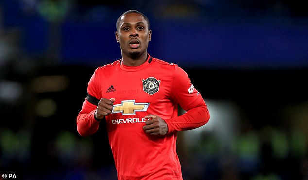 Shanghai Shenhua claims at least £ 20 million from Man United for Odion Ighalo