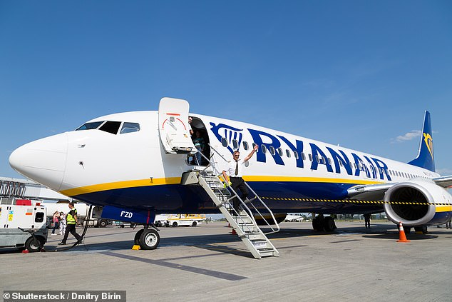 Since the Covid-19 flight restrictions in mid-March, Ryanair has been operating a skeleton daily schedule of 30 flights between Ireland, the UK and Europe