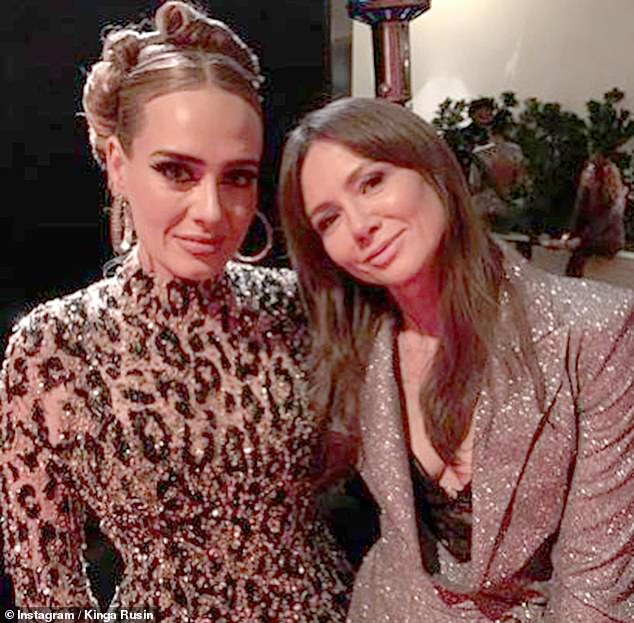 New look: Since unveiling her new look on her 32nd birthday, displaying her incredible lithe frame, the songstress has been showered with attention by fans and fellow celebs [pictured with Polish TV host Kinga Rusin after the Oscars 2020]
