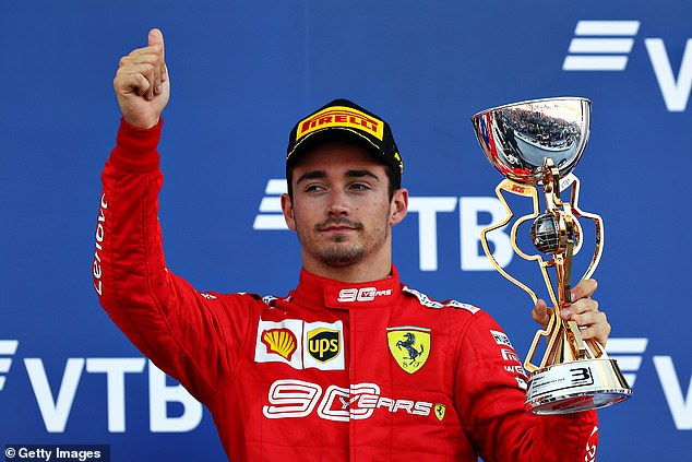 Charles Leclerc is to become the undisputed No 1 driver at Ferrari is Sainz joins the team