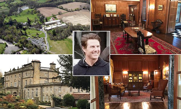 Scientology's posh UK headquarters where Tom Cruise is hunkered down