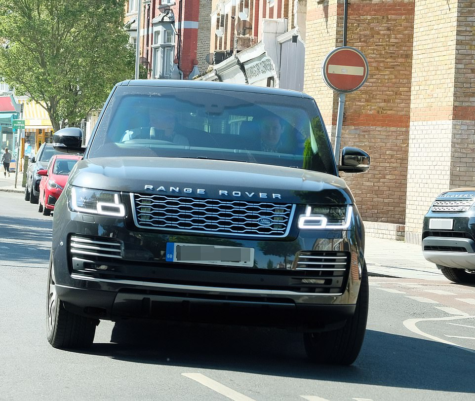 Sadiq Khan is swept away from his London home in this £100,000 Range Rover today as others crammed on to the Tube