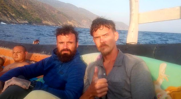 Luke Denman (right) and Airan Berry (left), were arrested on May 4 for their part in the plot