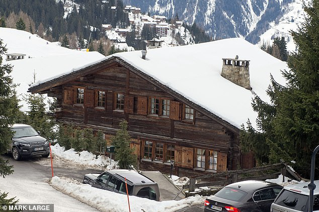 After their divorce, Miss de Rouvre became the sole owner of the property. She employed six full-time staff and rented it out for more than £22,000 a week. Pictured: Chalet Helora